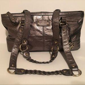 EUC The SAK Purse Leather Handbag Bronze